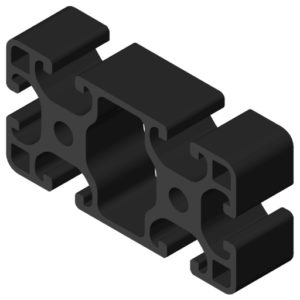0.0.026.36 Profile 8 80x40 light, black