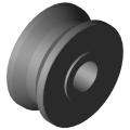 0.0.294.52 Roller D14K, black