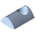 0.0.370.01 T-Slot Nut 5 St M5, bright zinc-plated
