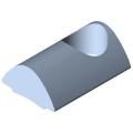 0.0.370.01 T-Slot Nut 5 St M5, bright zinc-plated