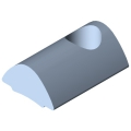 0.0.370.06 T-Slot Nut 5 St M4, bright zinc-plated