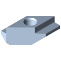 0.0.373.44 T-Slot Nut 8 Zn M5, bright zinc-plated