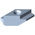 0.0.373.58 T-Slot Nut 8 Zn M4, bright zinc-plated