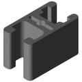0.0.373.67 Clamp Profile 8 32x18, natural