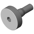 0.0.390.03 Bolt 5 D6 c, bright zinc-plated