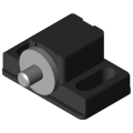 0.0.391.32 Magnetic Catch 5, black