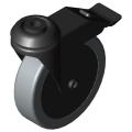 0.0.418.10 Castor D125 swivel with double-brake