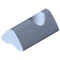0.0.419.40 T-Slot Nut 6 St M6, bright zinc-plated