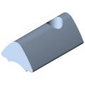 0.0.419.46 T-Slot Nut 6 St M4, bright zinc-plated