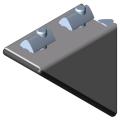 0.0.419.68 Angle Bracket Set 6 60x60