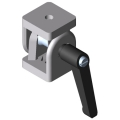 0.0.419.85 Hinge 6 30x30, heavy-duty with Clamp Lever