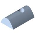 0.0.420.05 T-Slot Nut 8 St M5, bright zinc-plated