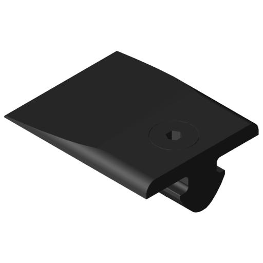 0.0.422.04 Slide Strip Wedge 8, black