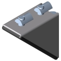 0.0.425.05 Angle Bracket Set 5 40x40
