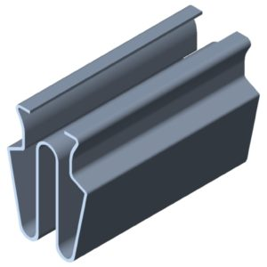 0.0.428.97 Clip 8 St, bright zinc-plated