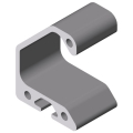 0.0.432.09 Grip Rail Profile, natural