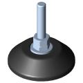 0.0.432.84 Knuckle Foot D80, M10x80, black