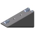 0.0.436.24 Angle Bracket Set 8 160x80