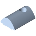 0.0.437.19 T-Slot Nut 5 St M3, bright zinc-plated