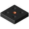 0.0.439.15 Base Plate Transport Plate 6 60x60, M10, black