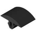 0.0.441.84 Grip Cover Profile 6 30x6, black