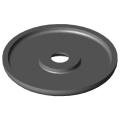0.0.441.87 Grip End Cap 6 D42, black