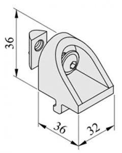 0.0.457.77 Angle Clamp Brackets 8