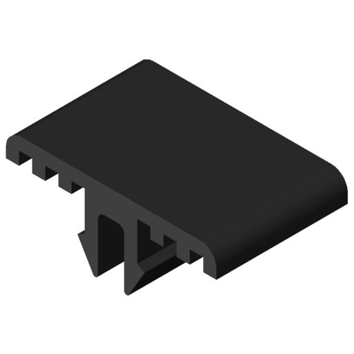 0.0.457.99 Slide Strip 8 antistatic, black