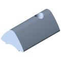 0.0.459.44 T-Slot Nut 6 St M3, bright zinc-plated