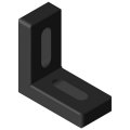 0.0.474.60 Bracket 40x40x20 Zn, black