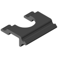 0.0.479.74 Cable Entry Protector Wall 40, black