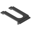 0.0.479.75 Cable Entry Protector Wall 80, black