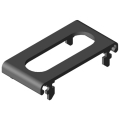 0.0.479.77 Cable Entry Protector Lid 80, black