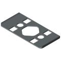0.0.480.41 Radius Seal 8 80x40 R40, grey similar to RAL 7042