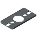 0.0.480.95 Radius Seal 8 80x40 R80, grey similar to RAL 7042