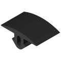 0.0.492.02 Cover Profile 8 32x4, black