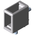 0.0.494.73 Corner-Fastening Set Clamp-Profile 8 32x18