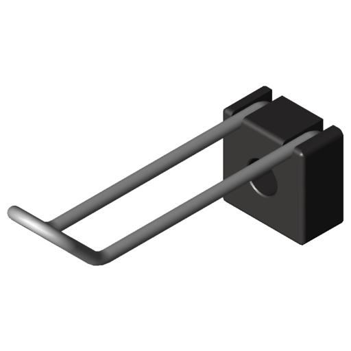 0.0.624.29 Hook 8 80x20, black