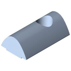 0.0.625.04 T-slot Nut 10 St M8, bright zinc-plated