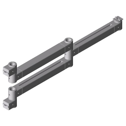 0.0.631.20 Double Pivot Arm 8 695 heavy-duty
