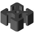 0.0.641.61 Profile KH 8 40x40, anthracite