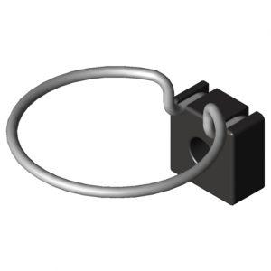 0.0.648.36 Holder Support D70, black