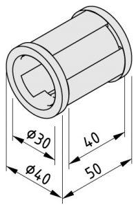 0.0.665.36 Plain Bearing D40_D30-50 ESD