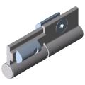 0.0.666.92 Folding-Door Hinge 8 Al for Clamp Profile 8 32x18