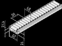 0.0.670.87 Roller Conveyor St 60x24 D15