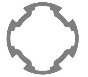 62828 Profile Tube D30