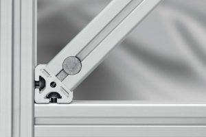 Angular Connections for aluminium profiles