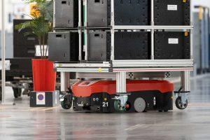 Automated Guided Vehicles using Item T-slot Aluminium