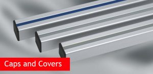 End Caps and Covers for Aluminium Profiles