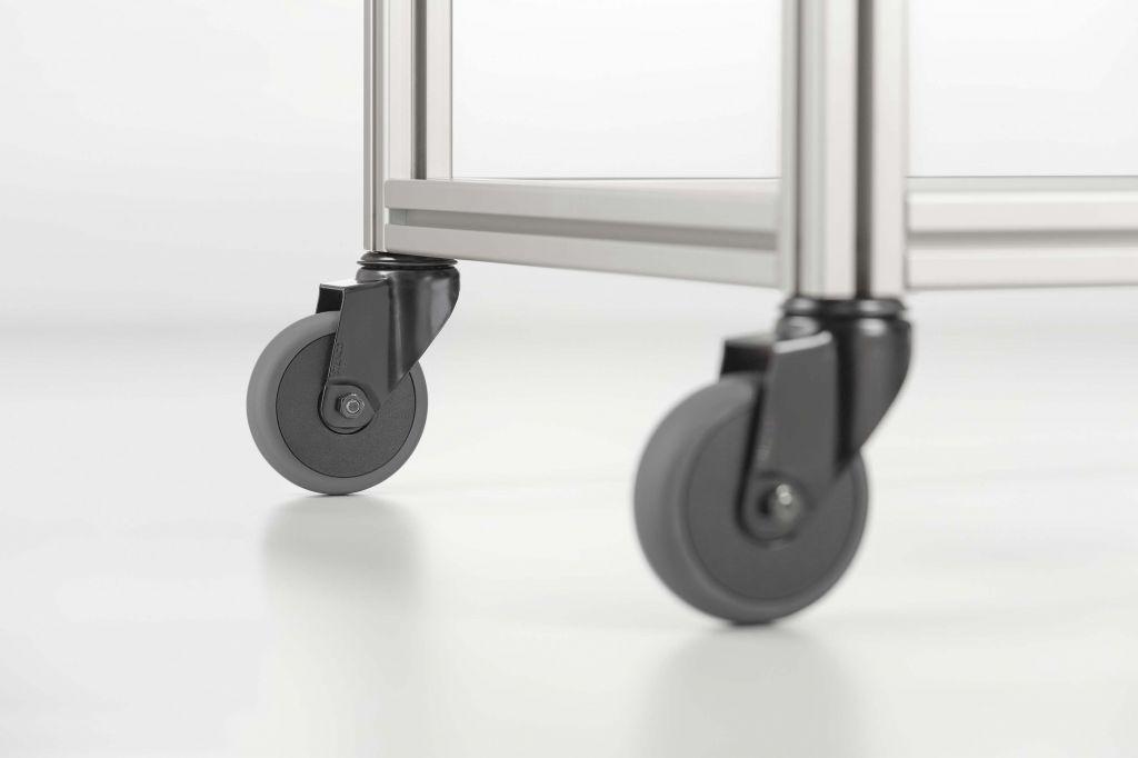 Wheels for Aluminium Frames